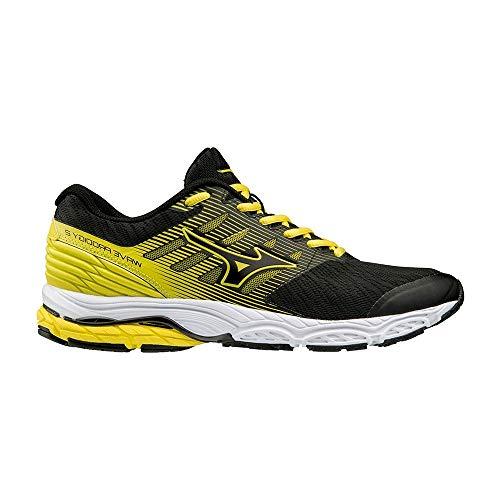 Mizuno Scarpe Running Uomo - Wave Prodigy 2 (Black/Yellow) (43 EU)