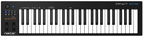 Nektar Impact GX49 USB MIDI Controller Keyboard with Nektar DAW Integration