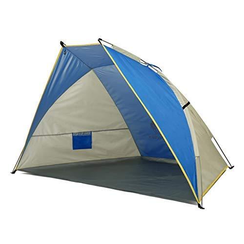 Busirsiz Totalmente automático Carpa camping al aire libre, 2 personas Shell Forma de apertura rápida No Construcción a prueba de lluvia protección solar impermeable, apto for la pesca de picnic Beach