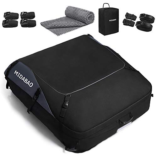 MIDABAO Thickened 20 Cubic Waterproof Duty Car Roof Top Carrier-Car Cargo Roof...