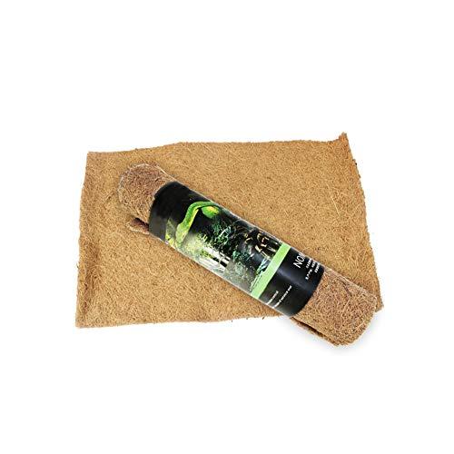 Reptil alfombras de Cama sustrato de Fibra de Coco Alimentos para Mascotas Reptil terrario Liner Mat Reptil Palma Mat