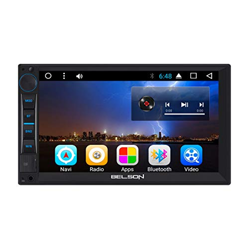 "Belson | BS-260 | 2 DIN | 7"" Pulgadas 