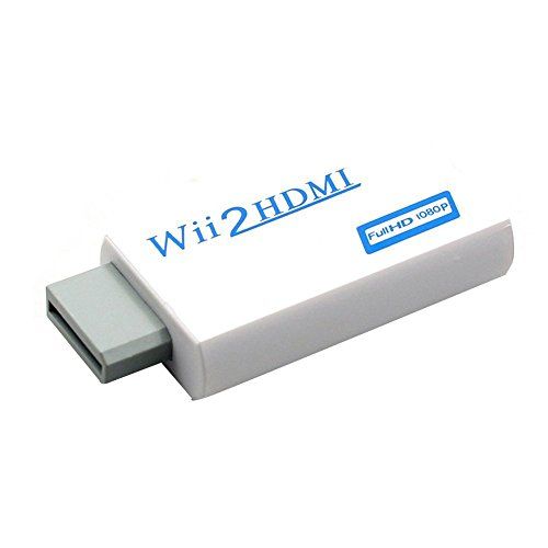 Green-state Wii to HDMI 720P / 1080P HD Output Upscaling Converter-Supports All Wii Display Modes to HDTV & Monitor