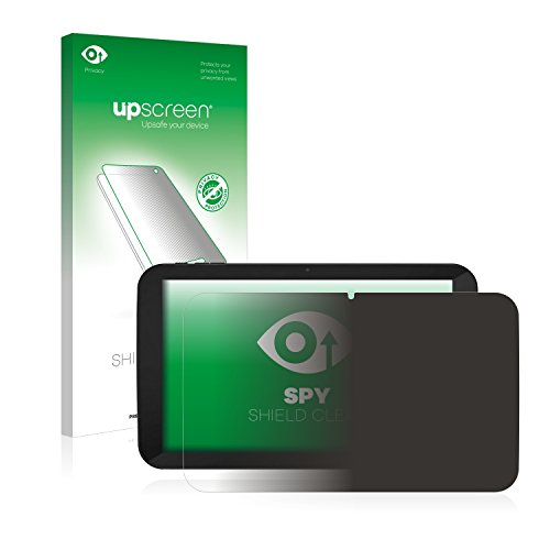 upscreen Anti-Spy Blickschutzfolie kompatibel mit TrekStor SurfTab xiron 10.1 3G (Volks-Tablet mit 3G) Privacy Screen Sichtschutz Bildschirmschutz-Folie