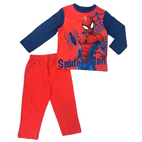 Spiderman Niños Pijama Largo