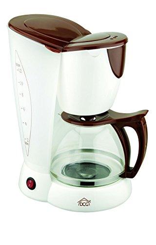 DCG Eltronic KA2509 Libera installazione Macchina da caffè con filtro 10tazze Marrone, Trasparente macchina per caffè