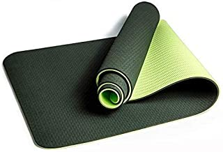 Foldable Yoga Mats 1830 * 610 * 6mm Yoga Mat Double Sided Color Exercise Sports Mats For Fitness Gym Environmental Tastele...