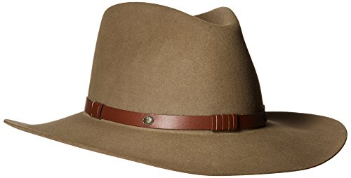 Stetson Men's 5X Catera Fur Felt Cowboy Hat Bark 7 5/8