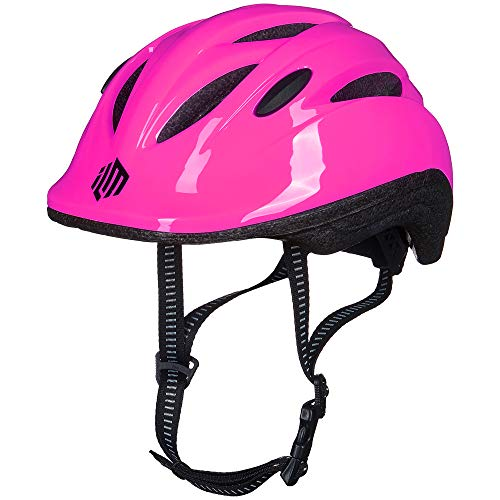 ILM Kids Toddler Bike Bicycle Helmet Girls Baby (Pink XX-Small/X-Small)