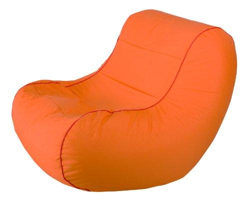 Magma-Heimtex 28742 42 Chilly Bean Scuba | Orange | 108 x 75 x 70 cm