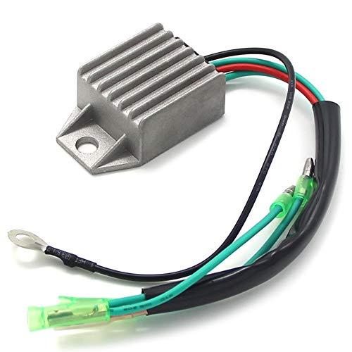 linger Regulador de Voltaje rectificador Ajuste para Yamaha 6C MHS/L MHL EMS M (W) HS 8C 9.9F 13.5A 15F WCS/L 15D 15F WHS/L MCS/L EHS/L 6J8-81960-00