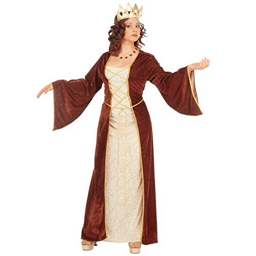 Burgfräulein Kostüm Mittelalter Prinzessinkostüm L 42/44 Burgdame Mittelalterkostüm Fasching Königin Faschingskostüm Maid Kleid Prinzessin Karnevalskostüm Larp Mottoparty Karneval Kostüme Damen