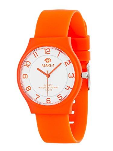 Marea Damen Analog Quarz Uhr mit Silikon Armband B35519/19