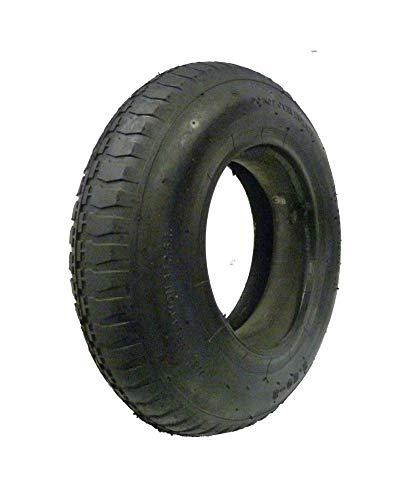 petit un compact LY Toolset 3.50 / 4.00-8 avec 2 chambres à air et pneus pour brouette