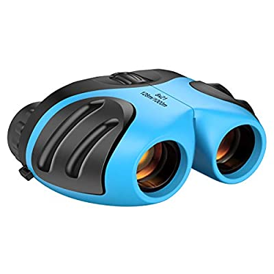 Kids Toys Age 3-12, damzing Waterproof Compact Binocular Thanksgiving Birthday Gifts for Kids Toys for 3-12 Year Old Boys Toys Age 3-8 New Toys for Girls Boys Kids Stocking Fillers for Kids Sky Blue from DEDY
