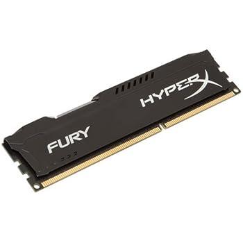 HyperX Fury - Memoria RAM de 4 GB (1333 MHz DDR3 Non-ECC CL9 DIMM), Negro