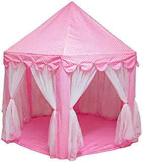 Portable Princess Castle Play Toy Tent Children Activity Fairy House kids Indoor Outdoor Playhouse Beach Tent Baby playing...