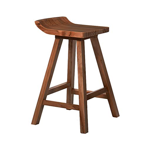 Barkruk robuust massief houten eettafel en stoel vrije tijd kruk reception cafe bar kruk stabiel