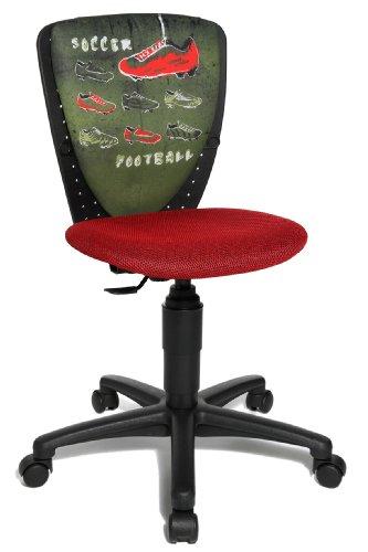 Topstar 70570JD0 Chaise de Bureau Chambre d'enfant Rouge