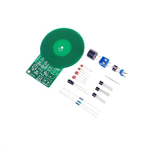 ANGEEK Detector de metales Electrónico DC 3V-5V 60mm sin contacto Sensor de la Junta Módulo Electrónico Parte de Metal Detector Kit de DIY