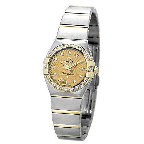 [オメガ] 腕時計 コンステレーション クオーツ 24MM 123.25.24.60.58.001 レディース 並行輸入品 シルバー