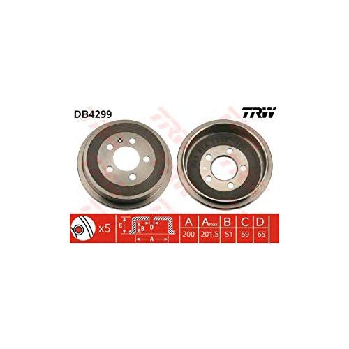 TRW Automotive AfterMarket DB4299 Bremstrommel
