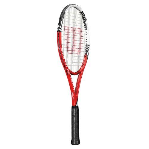 WILSON Six.One Team BLX (18x20) Racchetta da Tennis Adulto, G3 = 4 3/8