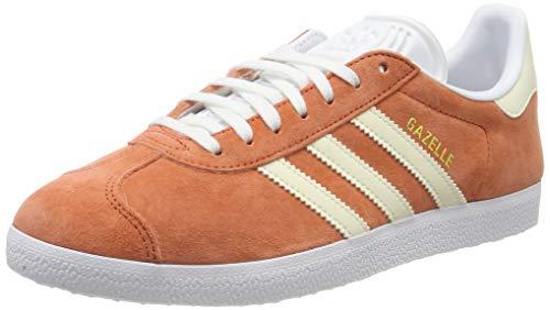 adidas Damen Gazelle W Gymnastikschuhe, Orange (Rawamb/E Cr Tin/Ftwwht), 40 EU