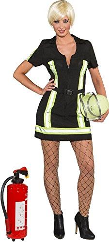 Orlob Damen Kostüm Feuerwehr Lady Feuerwehrfrau Karneval Fasching Gr.38