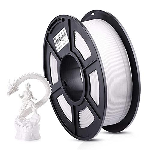 ANYCUBIC Filament 1.75 PLA Blanc, 1kg Bobine PLA Filament pour Imprimante 3D