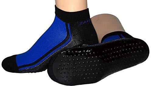 Beach Socks Wattwander Strand Socke, Größe:39/42, Farben alle:royal/schwarz