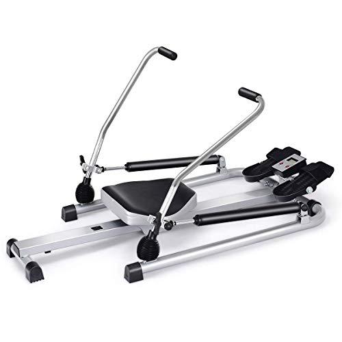 Goplus Hydraulic Rowing Machine Rower