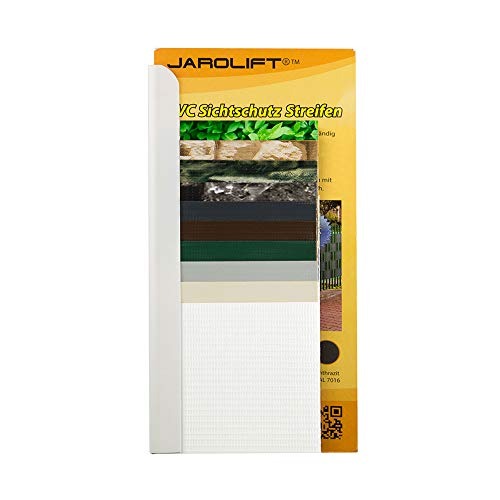 jarolift PVC Sichtschutzstreifen Musterbuch