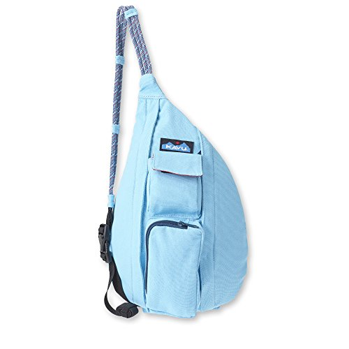 KAVU Mini Rope Bag Cotton Crossbody Sling  - Malibu