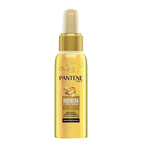Pantene Rigenera e Protegge Olio Secco con Vitamina E, 100 ml