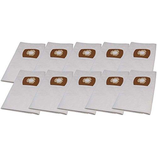 Hossi's Wholsale, Set di 10 sacchetti Premium per aspirapolvere Parkside PNTS 1400 B1