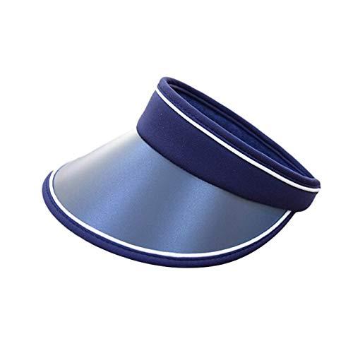 Qb Viseras para el Sol de ala Ancha Gorra de Playa con protección UV de Verano Sombrero de jardinería para Deportes al Aire Libre Sombrero de Mujer
