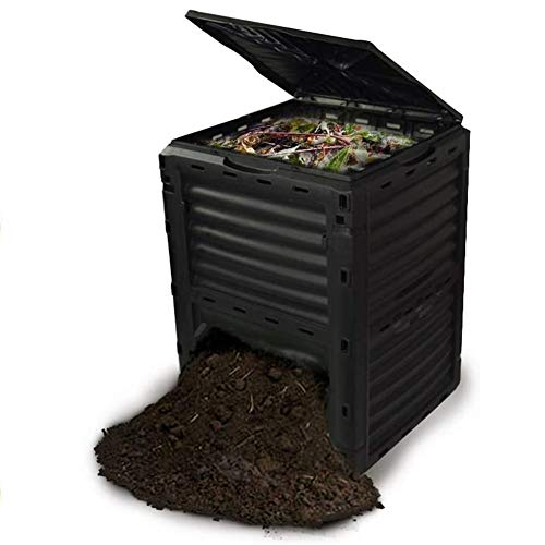 Find Bargain FMXYMC Garden Compost Bin, Large Capacity Outdoor Waste Bins, Made by 90% Recycled Plas...