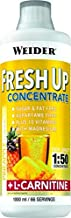 Weider Fresh Up Concentrate Lime Low Calorie Multivitamin Formula Magenesium L-Carnitine Sugar Fat Free Estimated Price : £ 15,13