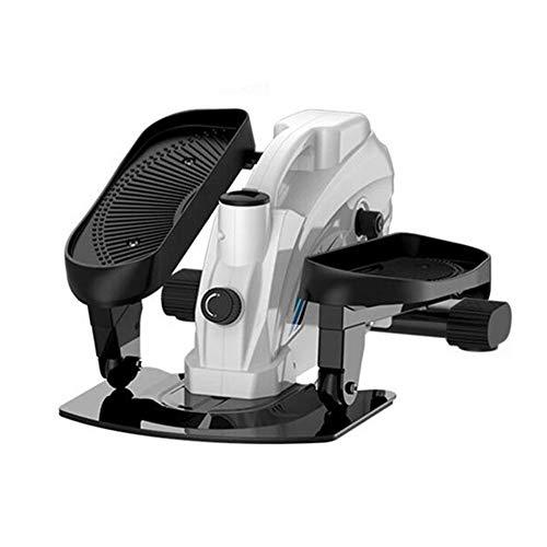 HSART Mediano Elíptico Entrenador 3 en 1 Mini caminadora de piernas paso con monitor LCD - Máquina de ejercicio ultra silenciosa y de alta resistencia