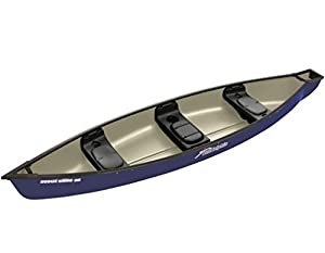 Sun Dolphin Scout Elite SS Canoe (Navy, 14-Feet)