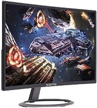 "Sceptre 24"" Curved 75Hz Professional LED Monitor 1080p HDMI VGA Build-in Speakers, Machine Black"