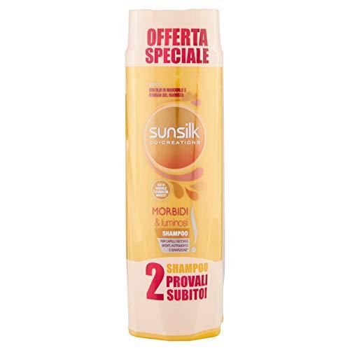 Sunsilk Shampoo Morbidi e Luminosi - Pacco da 2 x 250 ml
