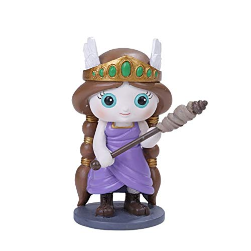 SUMMIT COLLECTION Norsies Frigga The Goddess of Love, Marriage, and Destiny Cute Norse Mythology Collectible Figurine