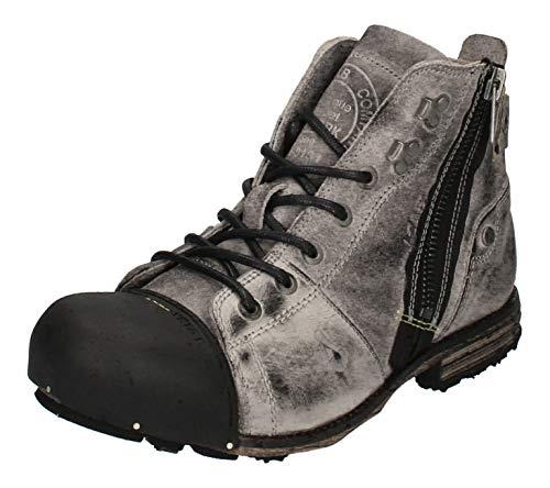 Yellow Cab Herrenschuhe Boots Industrial 15419 Moss Grey, Größe:45 EU