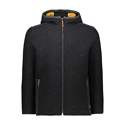 CMP Veste en 70 % laine et avec doublure intérieure en laine pour homme XXXL Charbon Mel.-Honey