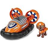 La Pat' Patrouille 6054436 - Vehículo con 1 Figura de Zuma de la Patrulla Canina, Juguete Infantil a Partir de 3 años de Edad