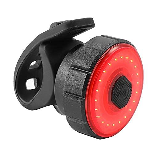 USB Posterior de la Bici LED de luz de Flash Recargables Luces traseras con Freno de Advertencia 7 Modos de detección de una Silla de Seguridad para Montaje de la lámpara