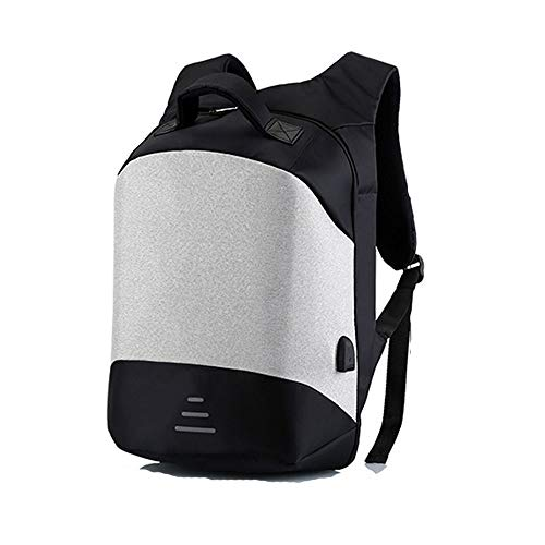 XLTT Negocios antirrobo Bolsa de ordenador Mochila de viaje al aire libre Estudiante Color sólido Bolsa Mochila