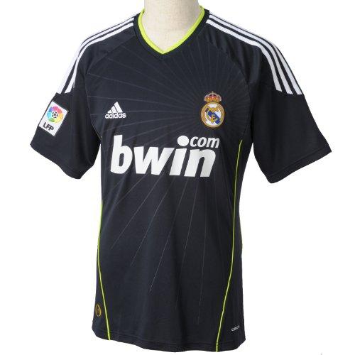 adidas Real a JSY Maglia Real Madrid Esterno Calcio Uomo Blu Chiaro, Uomo, Blu, S